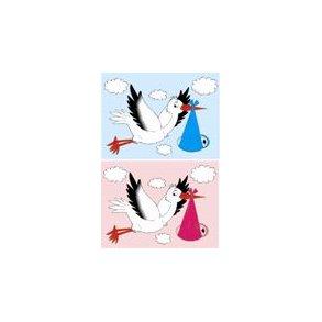 Baby storke flag