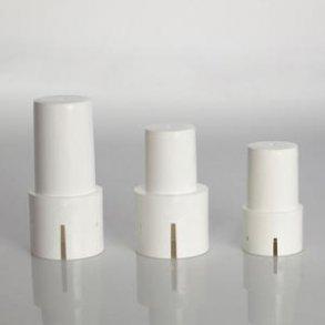 Plasttoppe, hvid til glasfiber