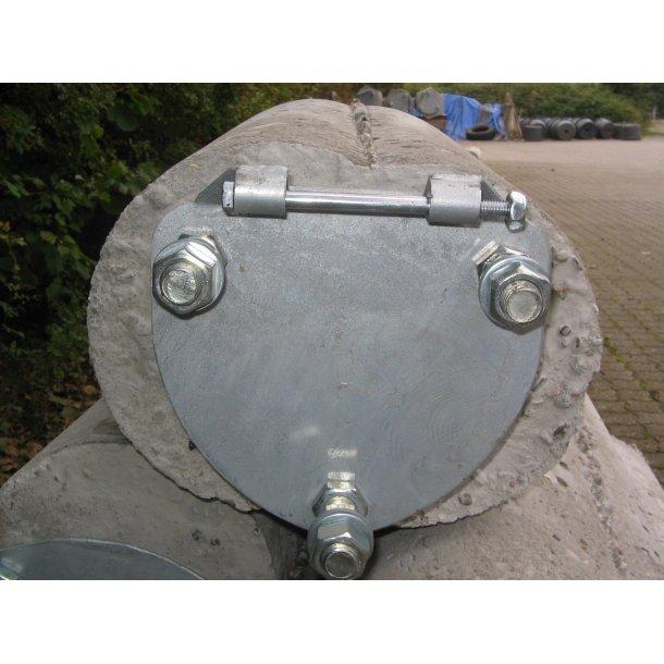 tillæg beton (kun fundament istøbt vippebeslag)