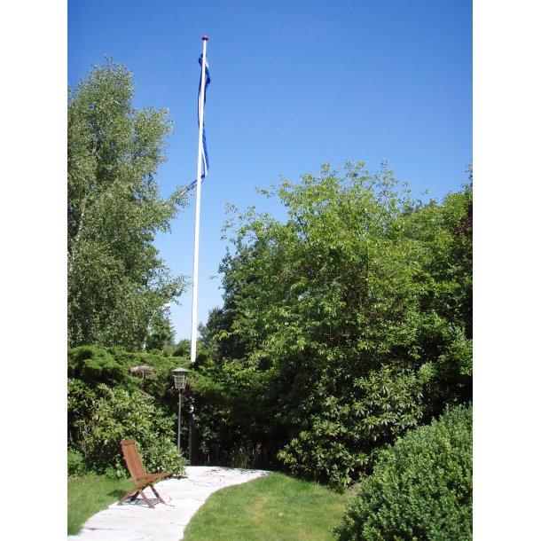 14 m glasfiberflagstang med vippebeslag