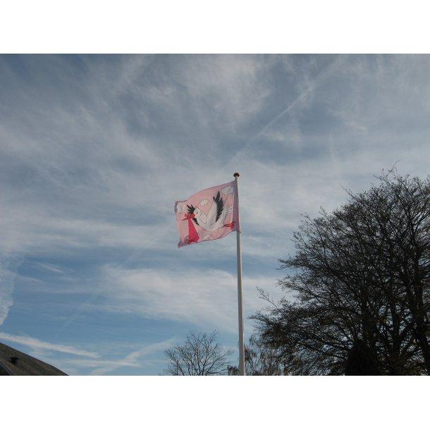 babyflag pige / pink