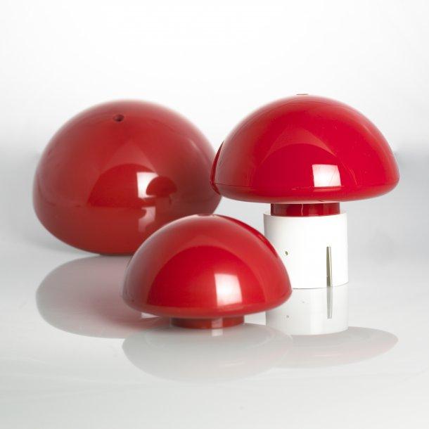 Rød plastknop 190 mm
