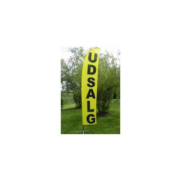 UDSALG Beachflag 380 cm